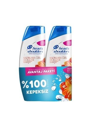 Head & Shoulders Head&Shoulders Şampuan Kadınlara Özel Saç Dök. 600 Ml  (300+300) Renkli